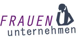 """Logo der Initative """"FRAUEN unternehmen"""""""